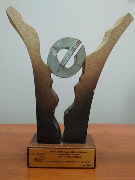 premio a la trayectoria y compromiso con la solidaridad 2006